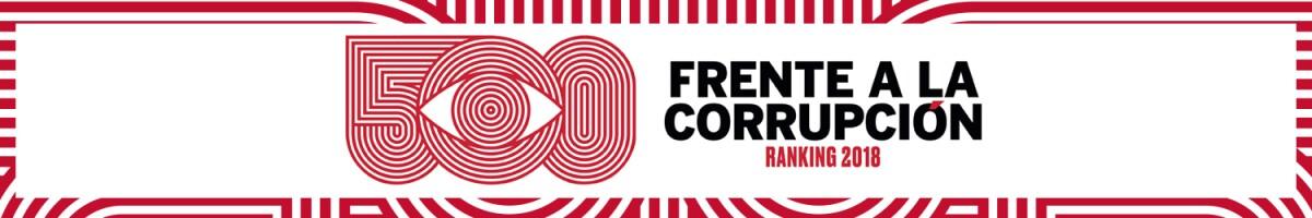 500 frente a la corrupción / header desktop Expansión