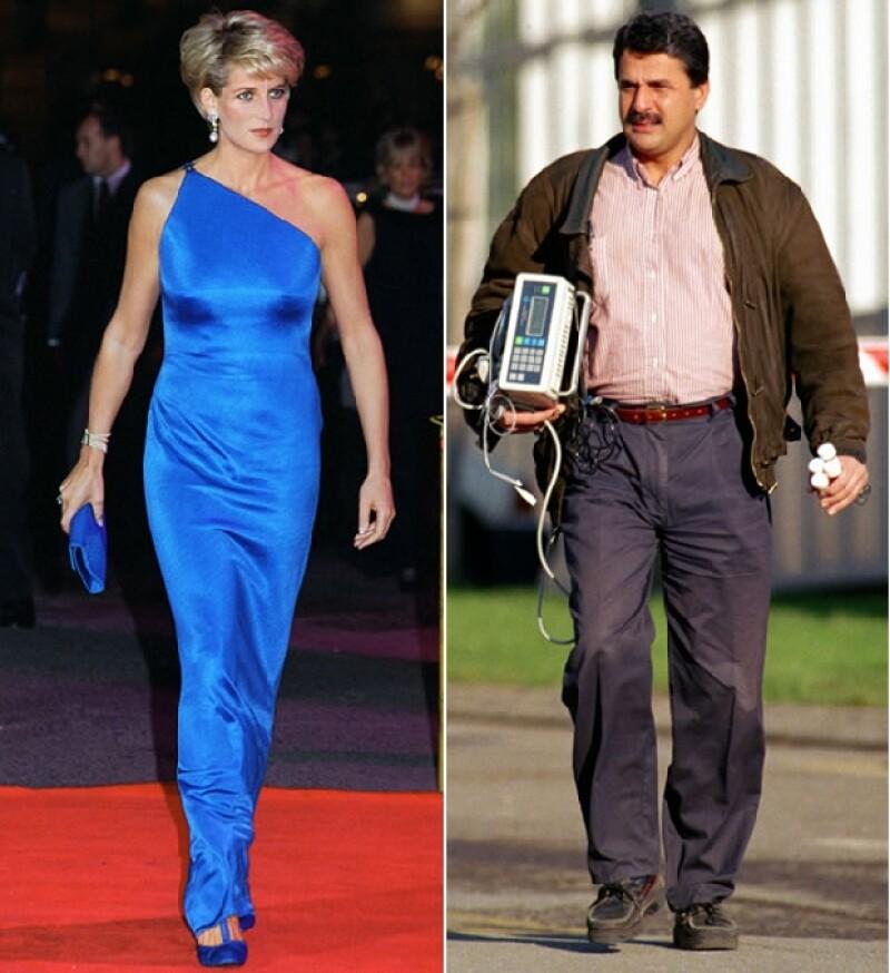 El doctor tuvo una relación con la princesa Diana.