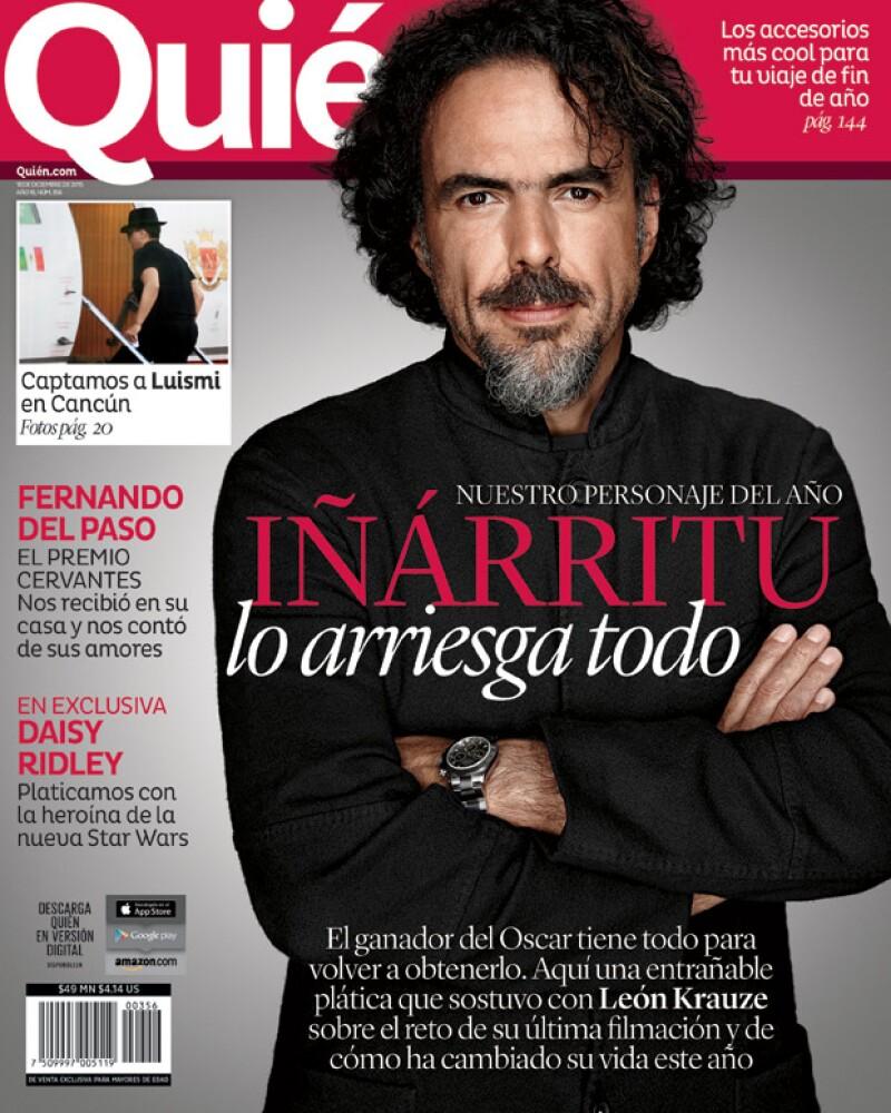 Alejandro González Iñárritu aparece en nuestra nueva y última portada del año.