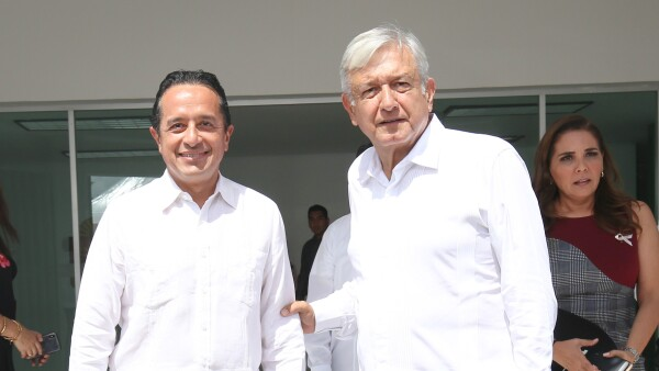 AMLO y Carlos Joaquín