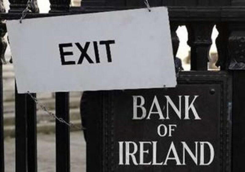 El rendimiento de la deuda irlandesa alcanzó el 8.14%, señal de la desconfianza de los inversionistas en el país. (Foto: Reuters)