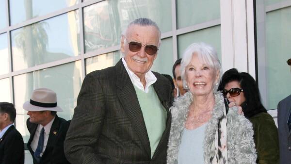 Así fue la romántica historia de amor de Stan Lee y su esposa