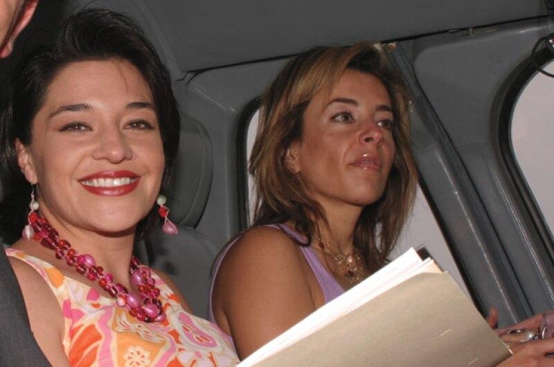María Fernanda Evia y Luisa Serna.