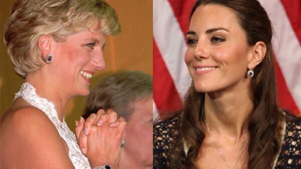 El hijo mayor de Lady Di le obsequió a su esposa un par de aretes que pertenecieron a la Princesa Diana.