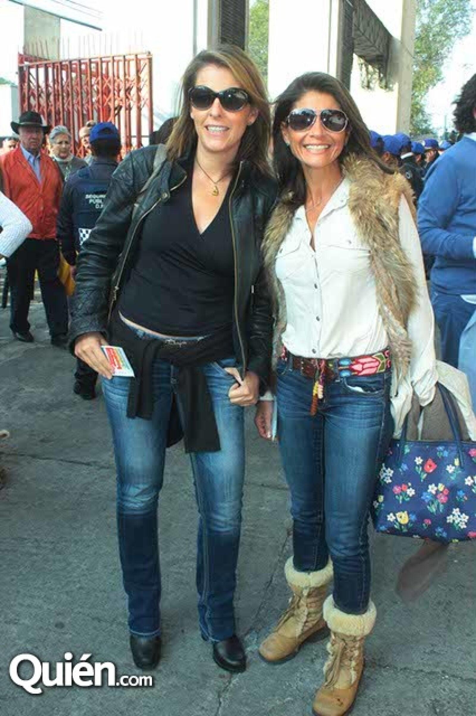 Mónica Hernández y Lourdes Cuevas