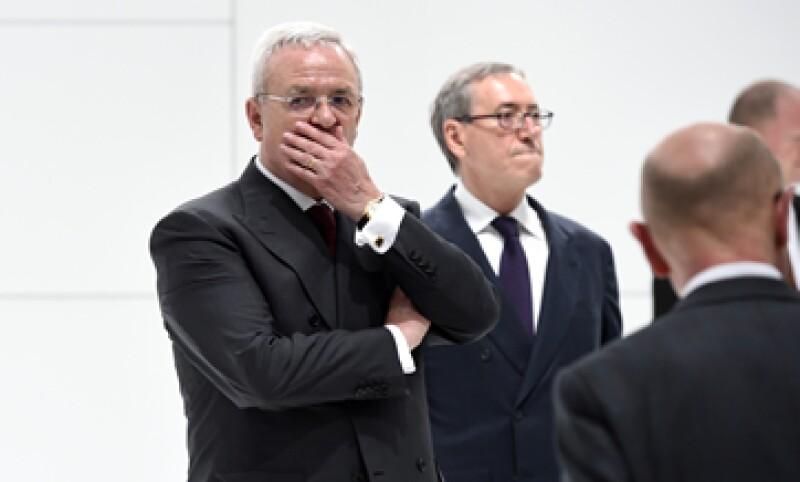El lunes, la Fiscalía del país anunció que investigaría a Winterkorn tras escándalo por emisiones contaminantes (Foto: AFP/Archivo )