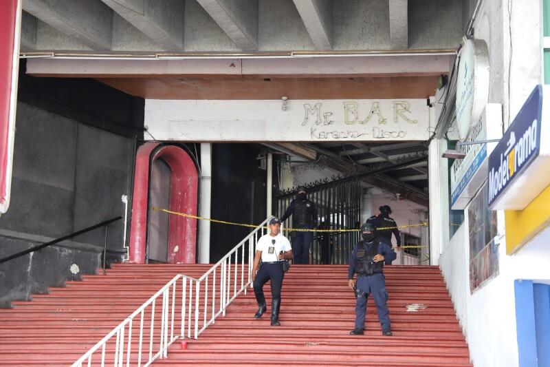 Bar atacado en Acapulco