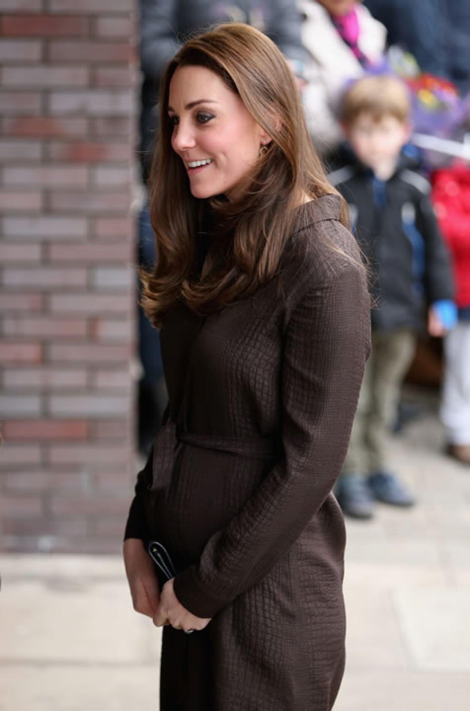 Kate Middleton el 16 de enero.