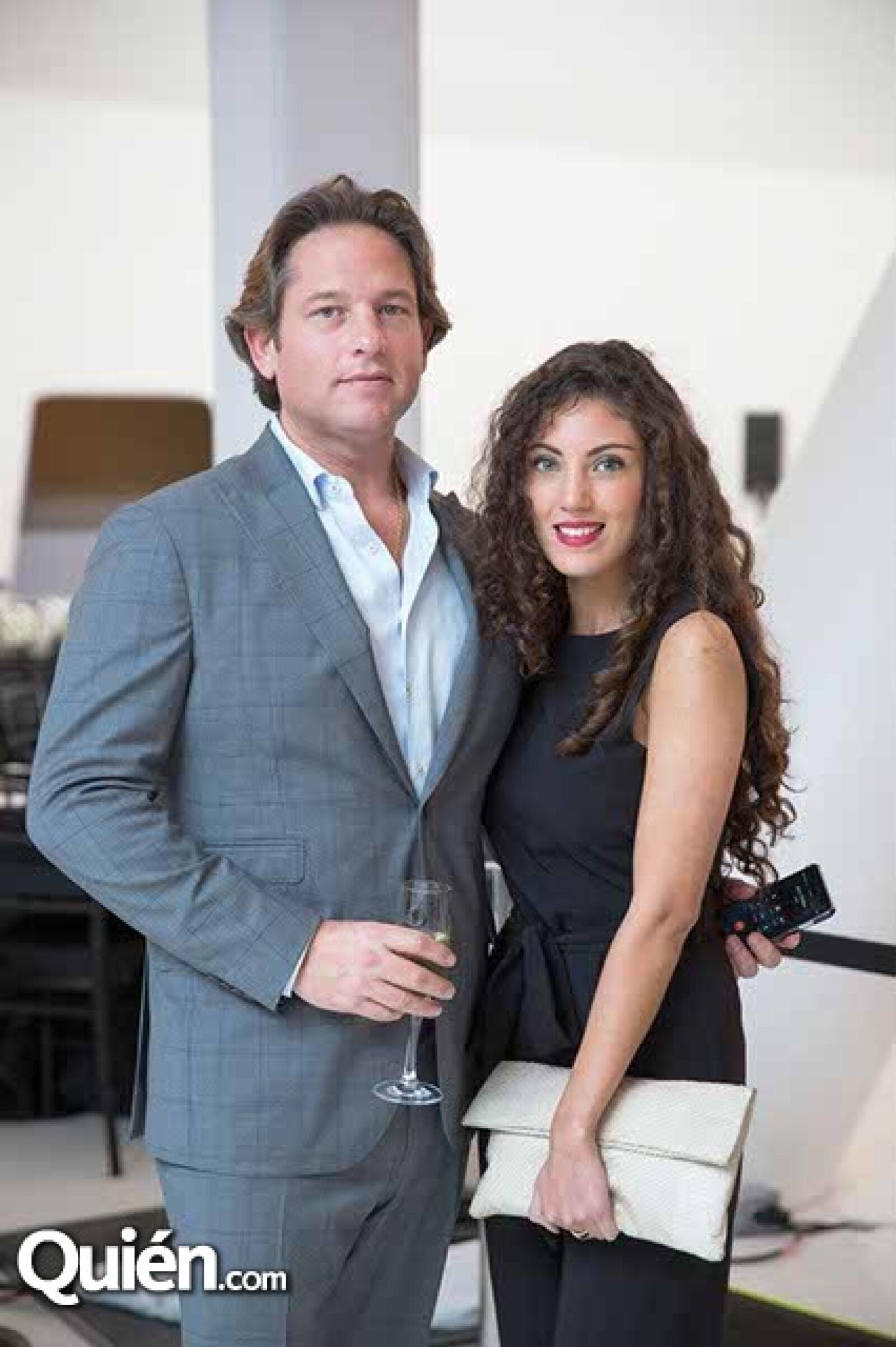 Alfredo Vilard y Alejandra Córdova