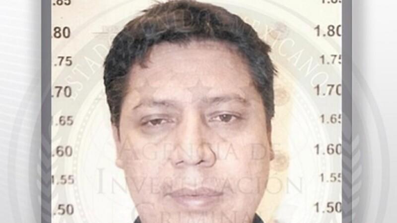 Heriberto Salgueiro Nevarez, presunto integrante de una banda delictiva que operaba en Chihuahua y Sonora