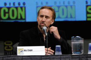 Nicolas Cage tuvo que vender algunas de sus cómics durante su divorcio.