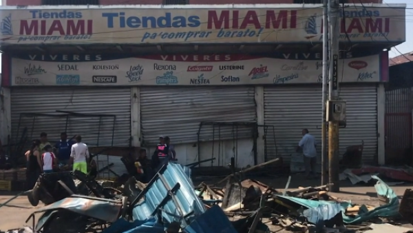Al menos 500 comercios fueron saqueados en Venezuela durante el apagón