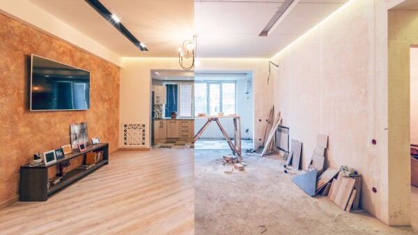 Renovation of studio room