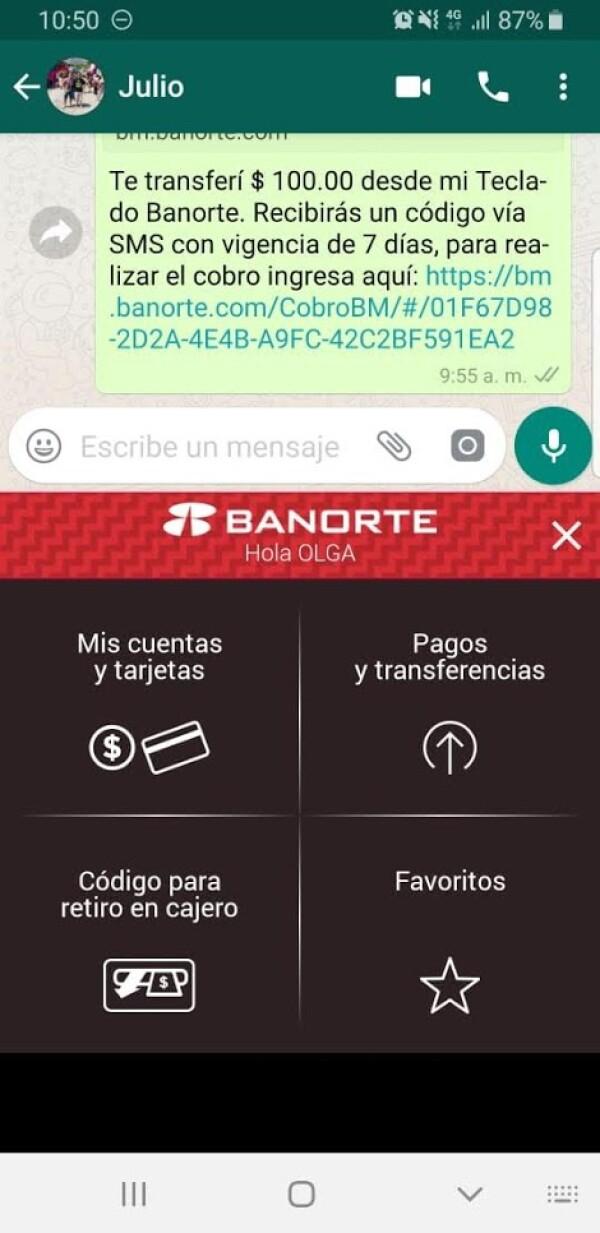 Banorte app