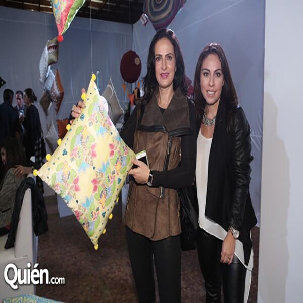 Ileana Escobedo y Beatriz Flores