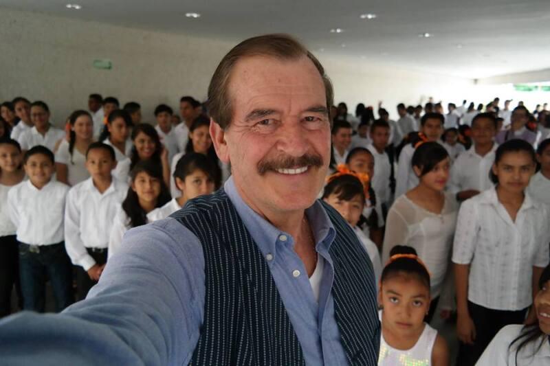El expresidente Vicente Fox reconoció la labor de la administración de Peña en materia económica y que Margarita Zavala supo aprovechar la campaña electoral para retornar a la escena política.