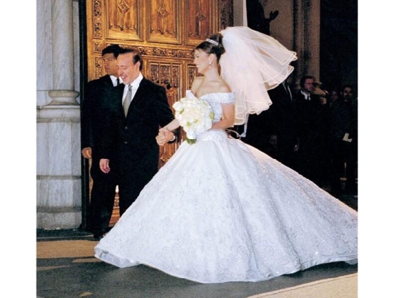 Thalía y Tommy Motola vivieron un cuento de hadas.