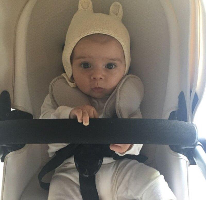 El pequeño hijo de Kourtney y Scott acaba de cumplir cinco meses de edad.