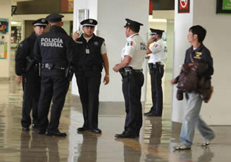 El Aeropuerto Internacional de la Ciudad de México implementó medidas adicionales de seguridad en sus vuelos con conexión a EU. (Foto: Notimex)
