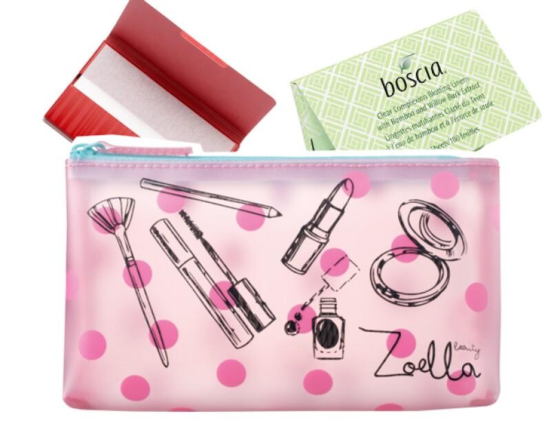 Hojas absorbentes de Shiseido y Boscia.