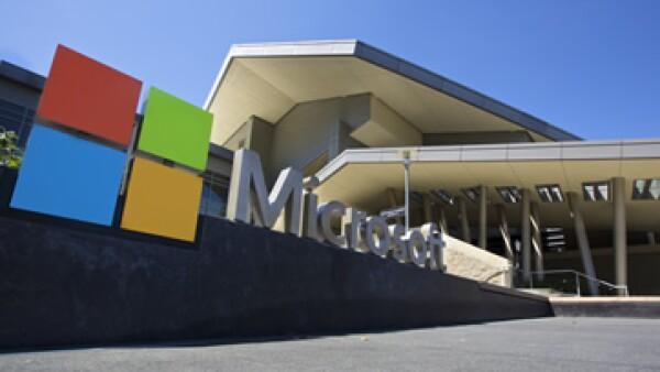 Microsoft dijo que registró mayores ventas pese al maol desempeño de sus ganancias.  (Foto: AFP)