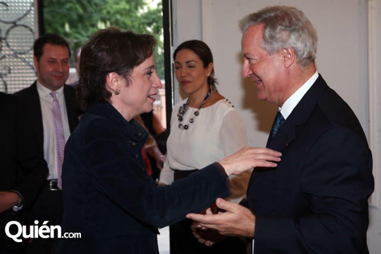 Carmen Aristegui,Daniel Parfait