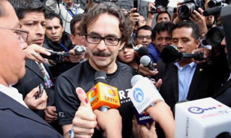 Gabriel Quadri también fue superado por Enrique Peña Nieto, quien obtuvo el 38.15% de la votación total.   (Foto: Notimex)