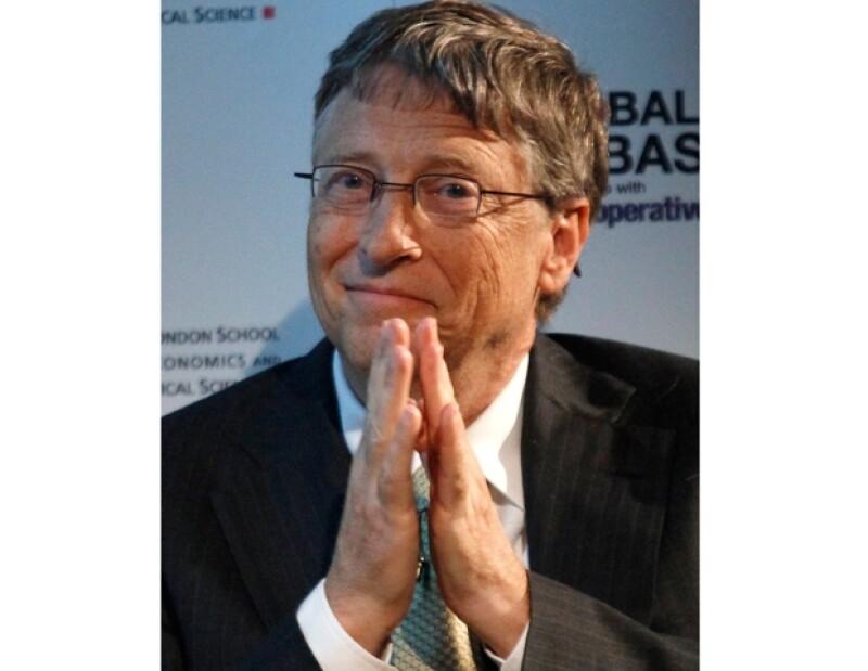 Bill Gates ocupó el segundo lugar.