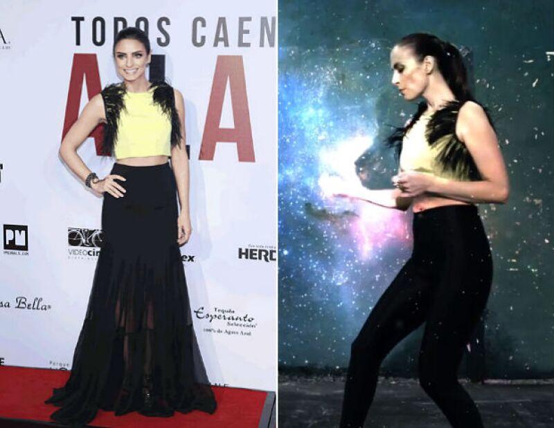 Coincidencias de la vida... o de la moda, pero ambas famosas están de estreno en sus respectivos rubros y una de sus particulares prendas fue portada por ambas casi a la par.