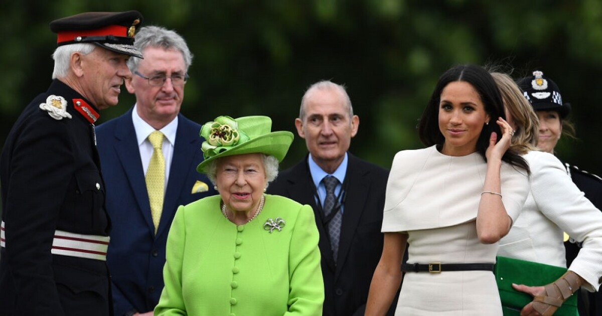 Before the Duke of Edinburgh's funeral, Meghan and Archie spoke with the queen