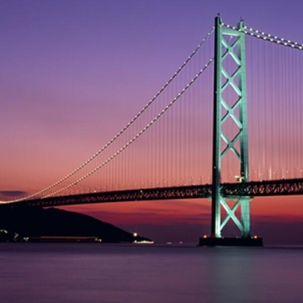 Akashi Kaikyo Bridge, Kobe, Hyogo, Japon