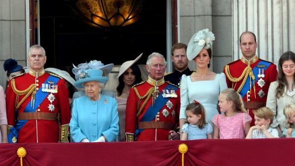 Los Windsor en Trooping the Colour 2