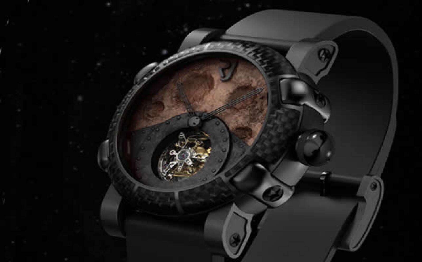 El mirar tu reloj serça como ver las fases lunares día a día.