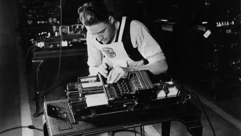 La tecnología de tarjetas de IBM ayudó a implementar grandes proyectos, como el censo de Estados Unidos.