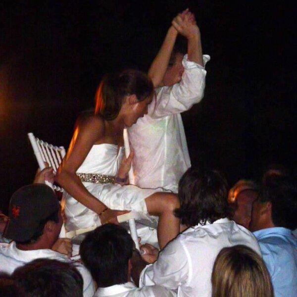 Las fotos de la primera boda de Meghan Markle con Trevor Engelson