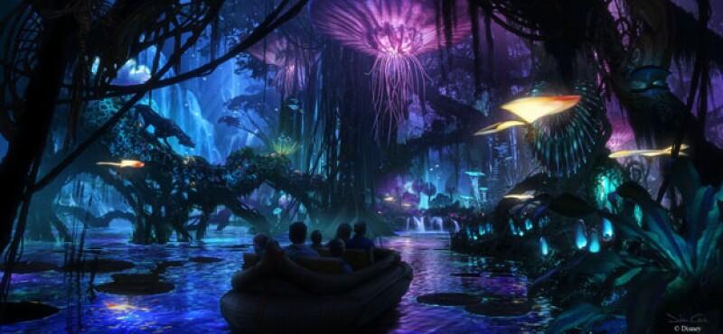 Un nuevo recorrido en bote entre la naturaleza de Pandora.