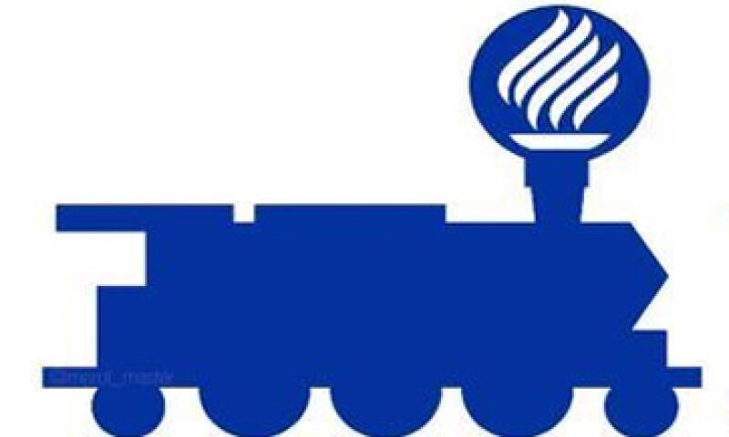 Algunos usuarios comparan el logo del Tec con el humo que sale de un tren. (Foto: tomada de twitter.com)