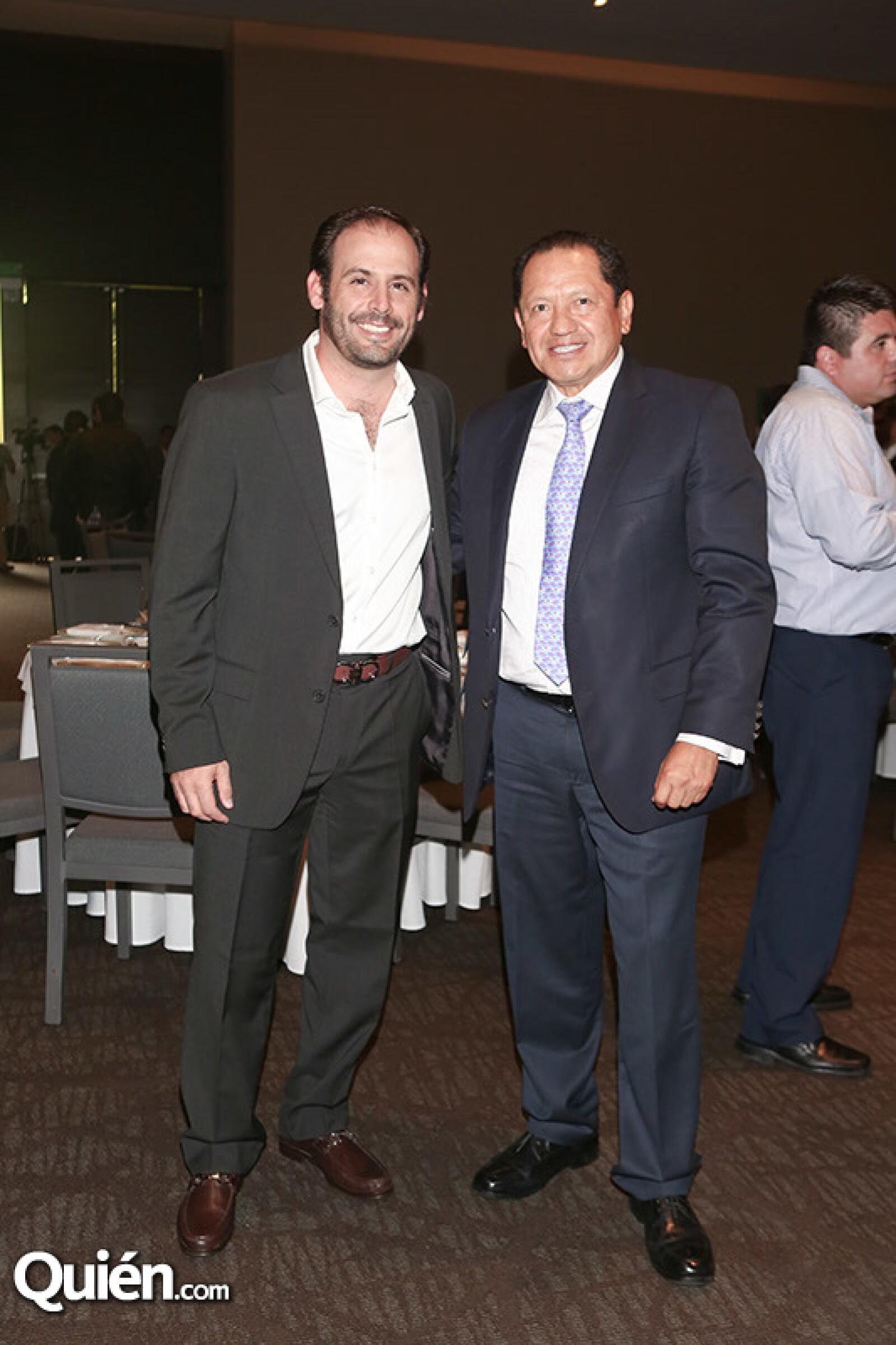 Luis Miguel Pérez y Juan Gramillo