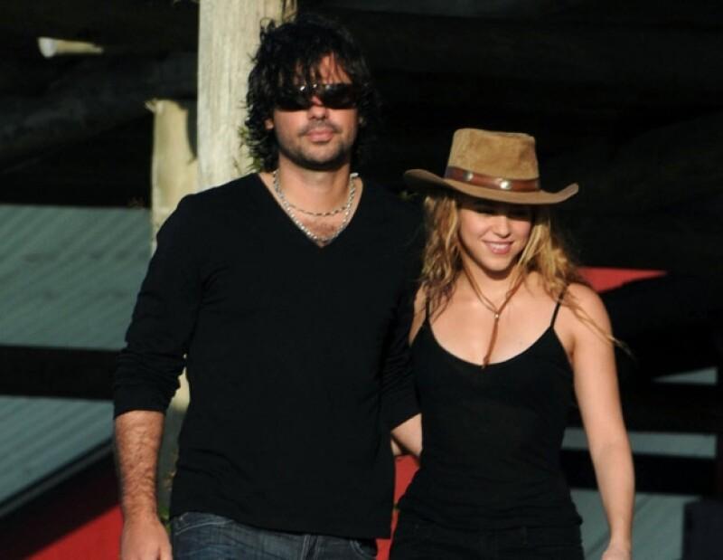Shakira y Antonio de la Rúa terminaron en enero de 2011.