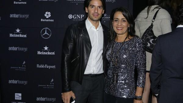 Abelardo Marcondes y Andrea Carneiro
