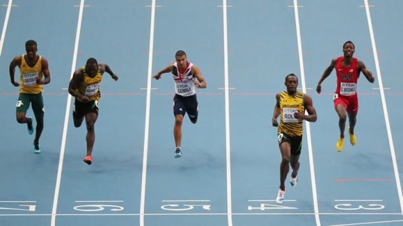 Competencias por el Mundial de Atletismo en Moscú