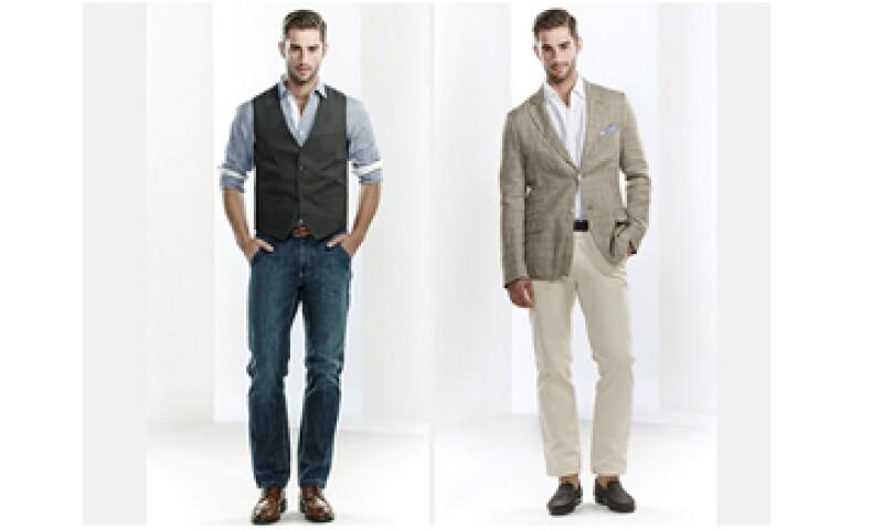 Un look casual cuidado permite combinar prendas alternativas al traje sin demeritar la imagen. (Foto: Tomada de scappino.com)