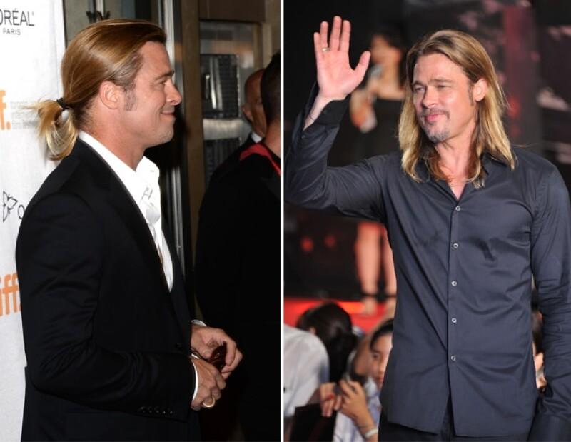 Debido a que el actor está trabajando en su nueva película tuvo que cortarse el pelo, aunque en las imágenes aparece con una gorra se aprecia claramente su nuevo look.