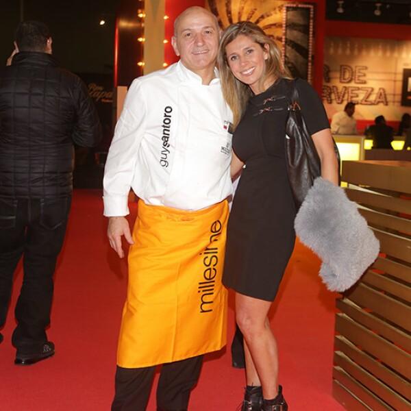 Guy Santoro y Ana Laura López