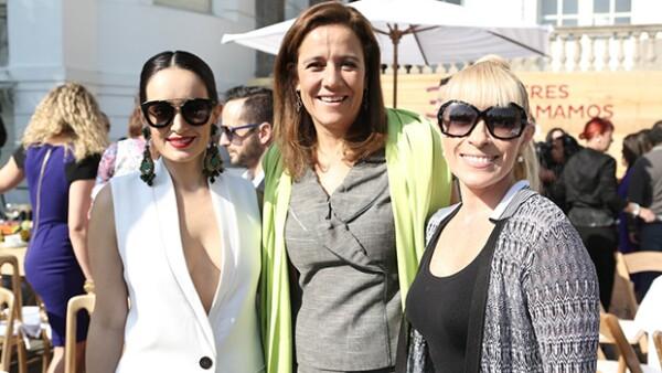 Quién festejó a las `31 mujeres que amamos´ entre las que estuvieron la ex primera dama, la actriz y personajes como Gaby Vargas, Diana Bracho y Olga Sánchez Cordero y muchas más.