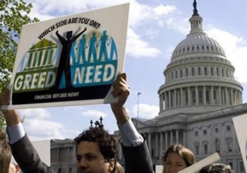 El Senado de EU iniciará el debate por la reforma financiera de Estados Unidos. (Foto: AP)