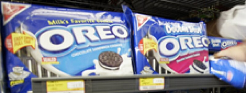 Kraft Foods tiene marcas como Cadbury, Nabisco, Oreo, Philadelphia y Trident.   (Foto: AP)