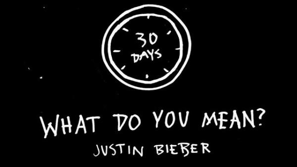 Con esta imagen Justin Bieber inició la cuenta regresiva para revelar su nuevo sencillo.