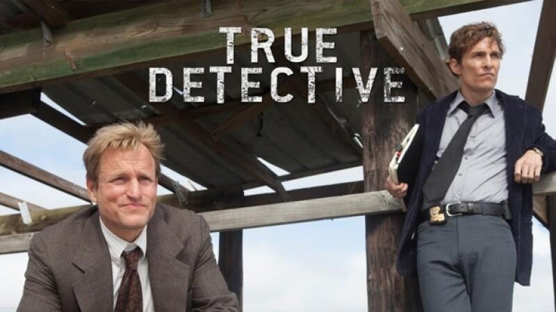 Matthew McConaughey y Woody Harrelson en True Detective.