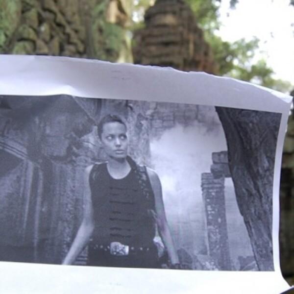 Tomb Raider, locación, Camboya